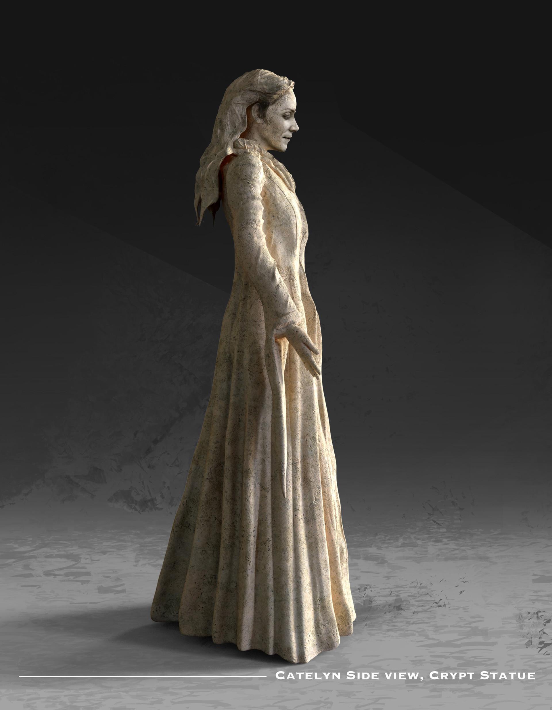 Kieran belshaw catelyn statue side v002