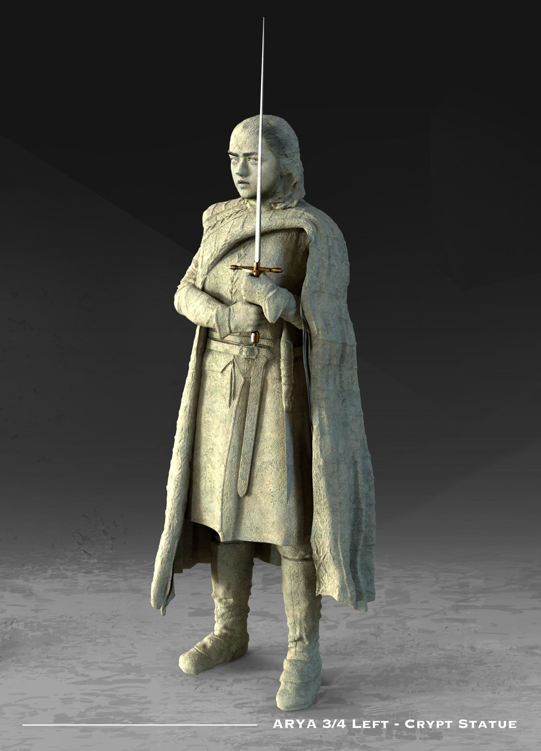 Kieran belshaw arya statue 3quarterleft v002