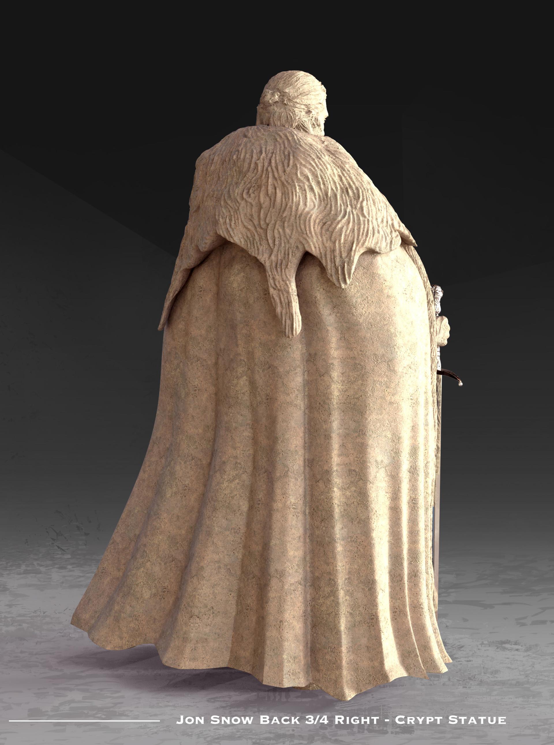 Kieran belshaw jon statue back 3qright v001