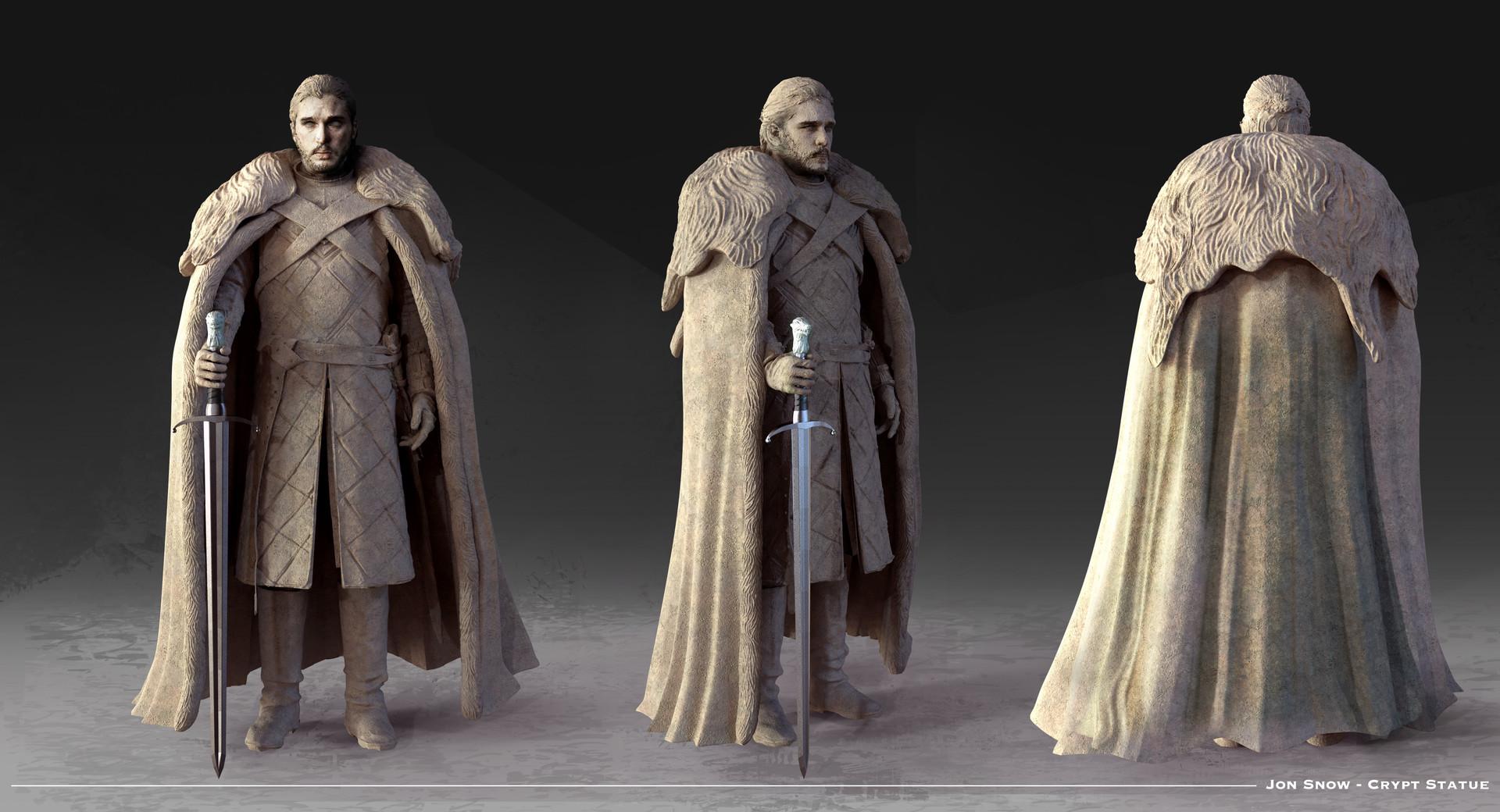 Kieran belshaw jon statue v001