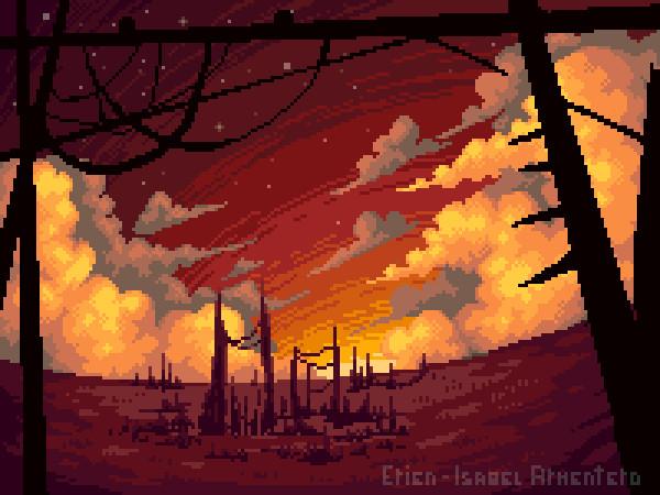 Pixel illustration #16