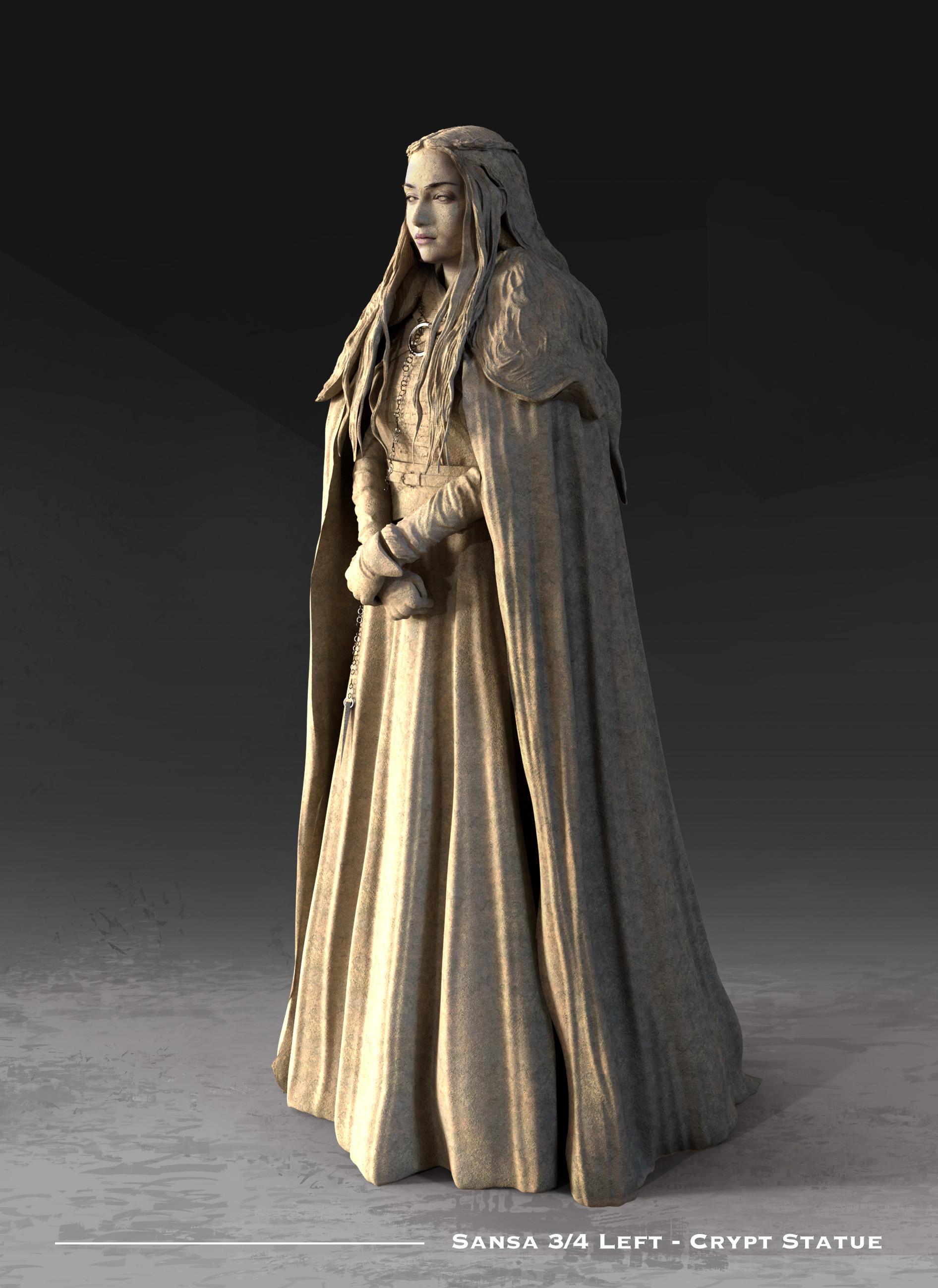 Kieran belshaw sansa statue 3quarterleft v001