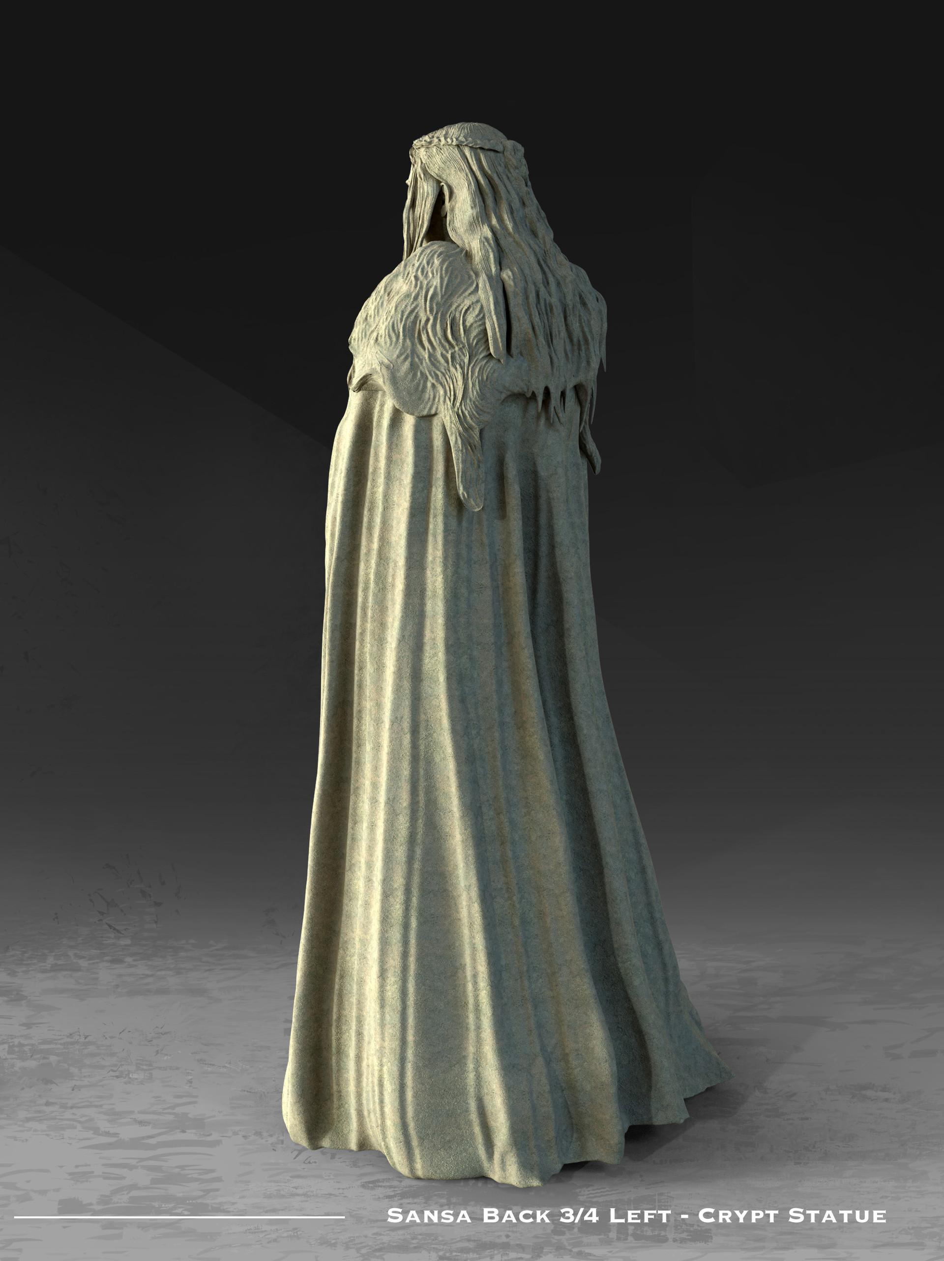 Kieran belshaw sansa statue back 3qleftv001