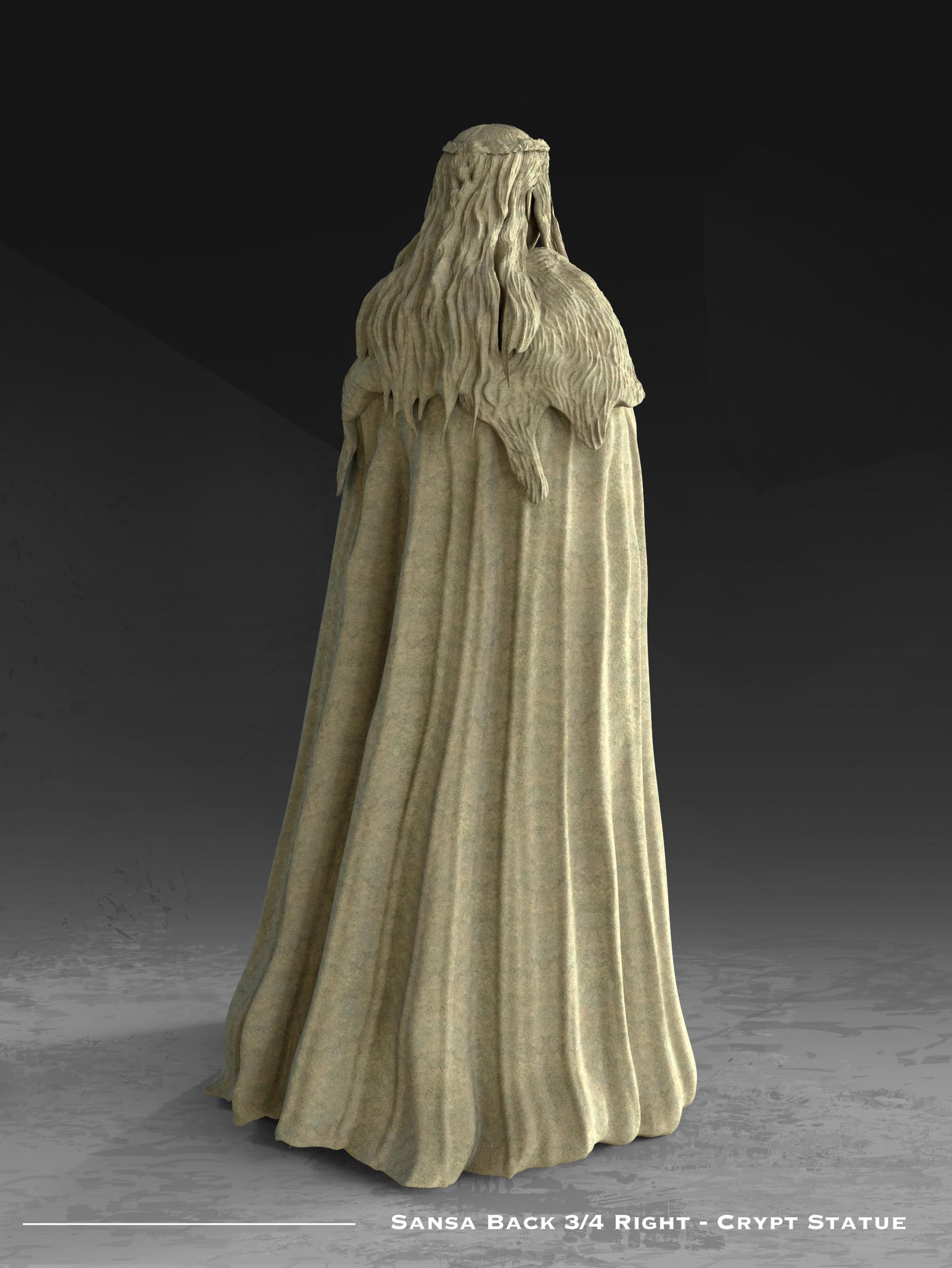 Kieran belshaw sansa statue back 3qright v001