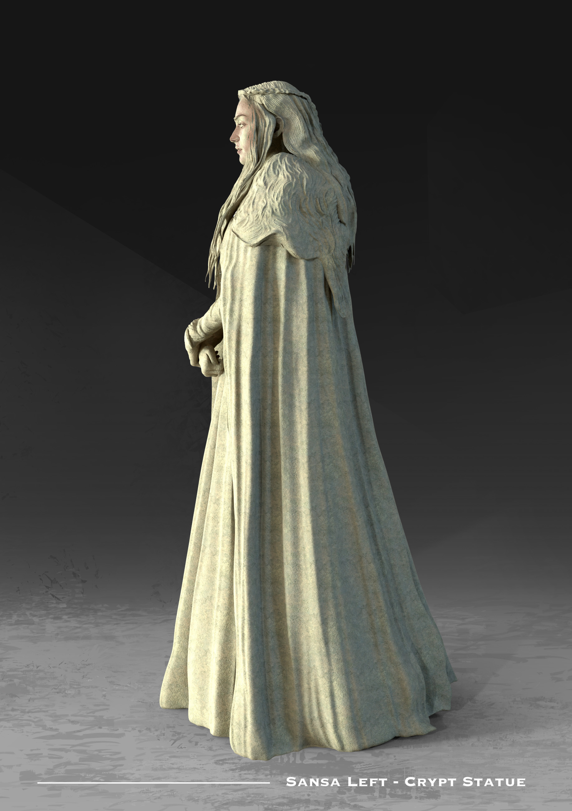 Kieran belshaw sansa statue left v001