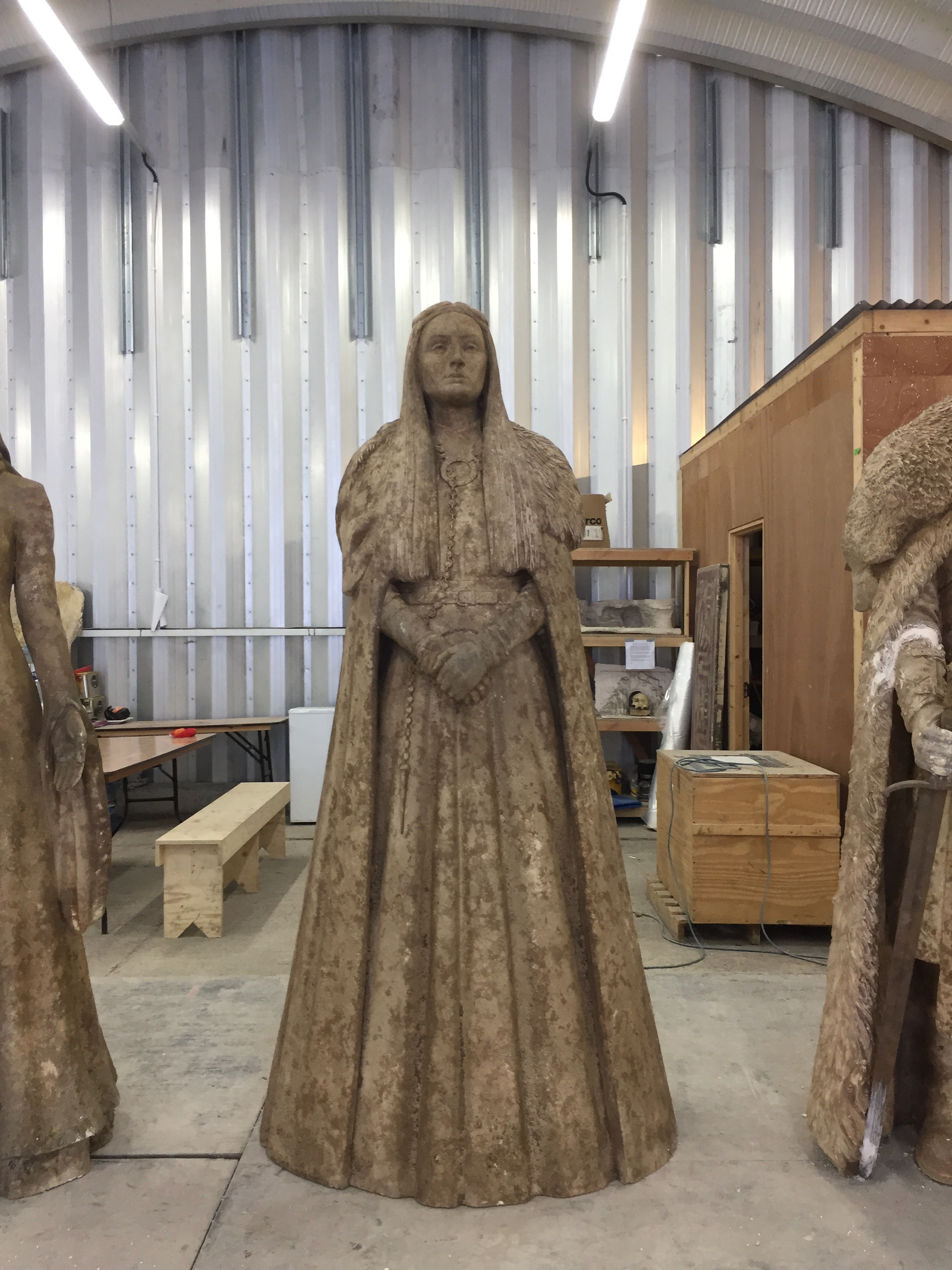 Sansa statue, original sculpted in clay by Darren and his amazing team!!