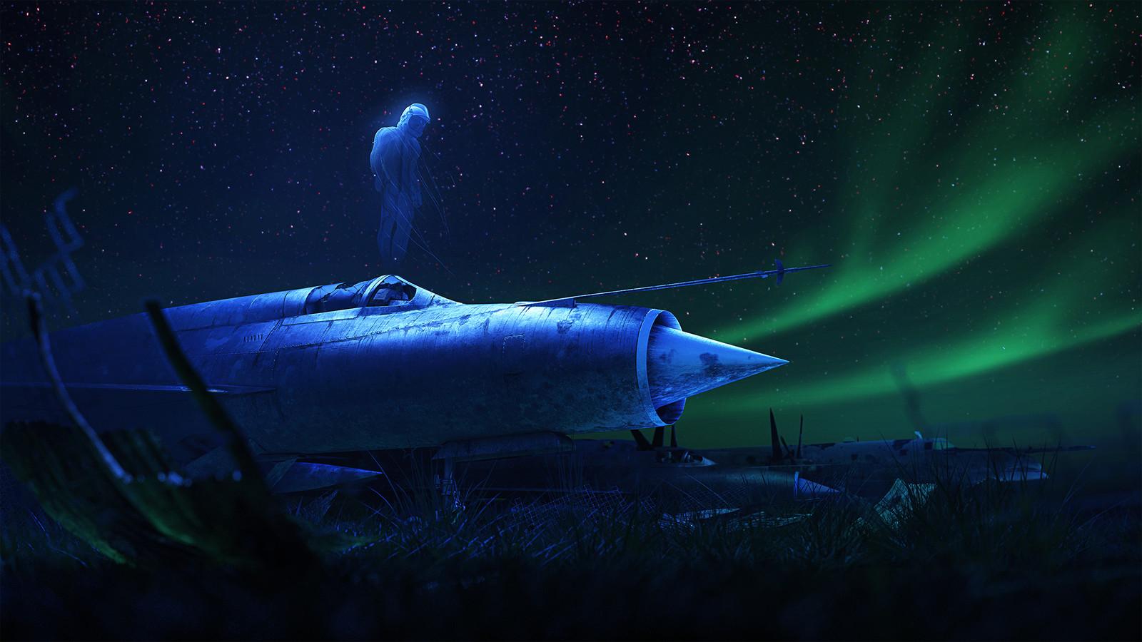 Pilot Ghost (piece6)