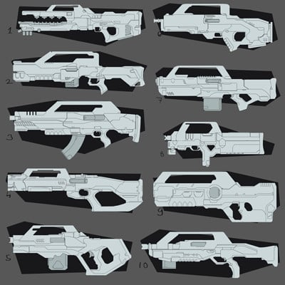 Lucaciu roland gun sketches
