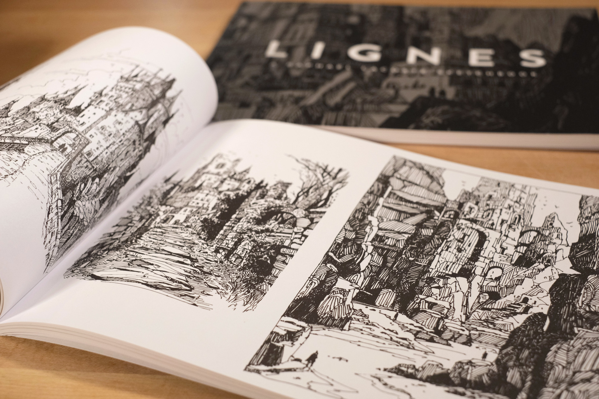Raphael Lacoste Artbook Lignes limited Signed Edition