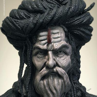 Surajit sen sadhu speed digital sculpt by surajitsen jan2019