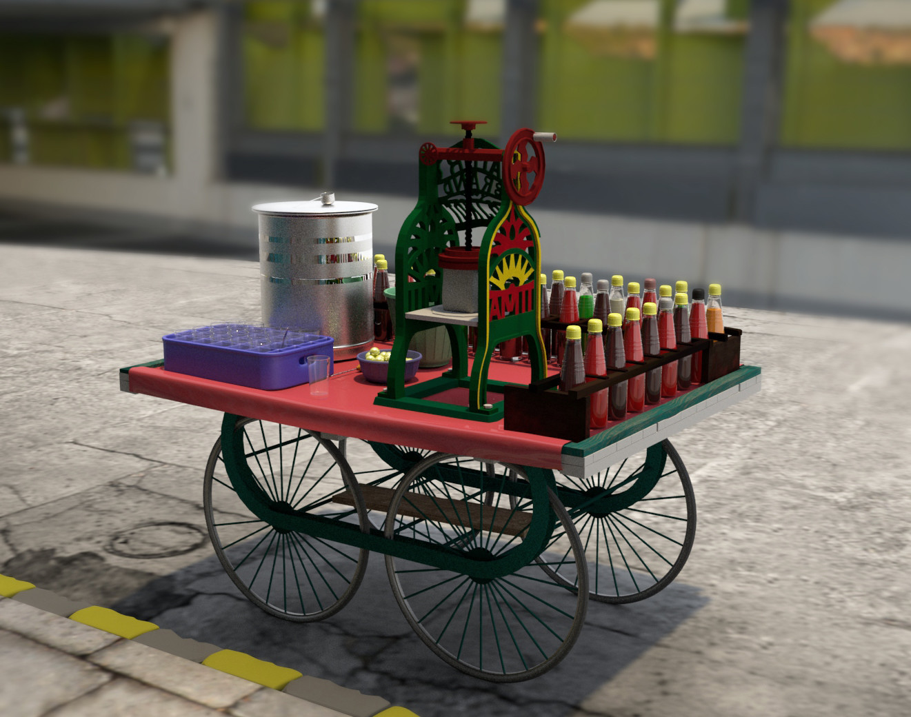 Rajesh r sawant gola cart 2