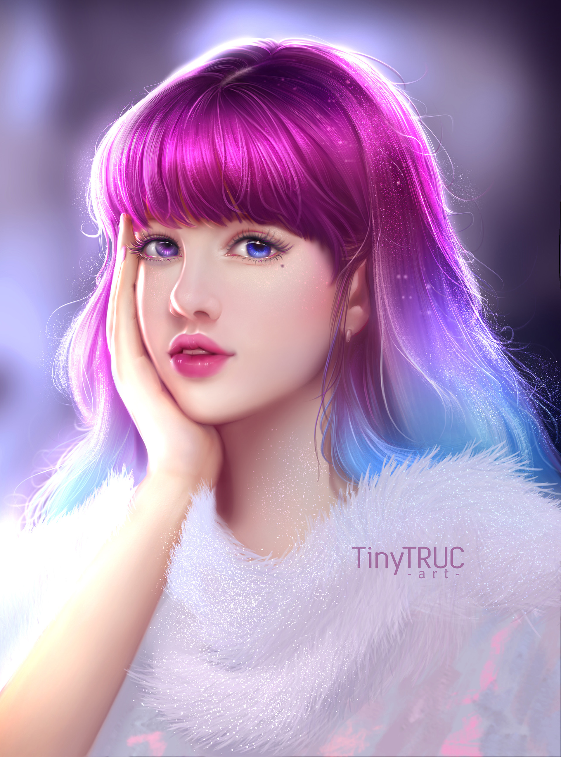 Artstation - Dreamy Girl, Tiny Truc-5037