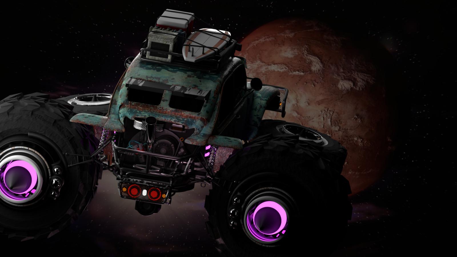 Baja Space Bug reaching destination