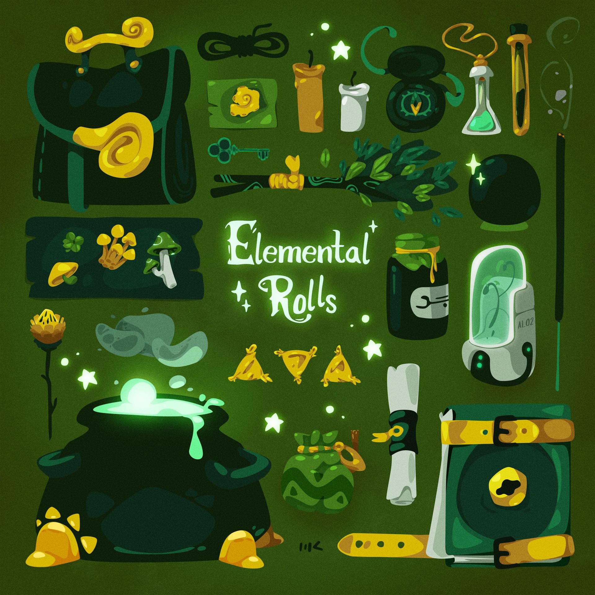Moutaz k maudy element rolls