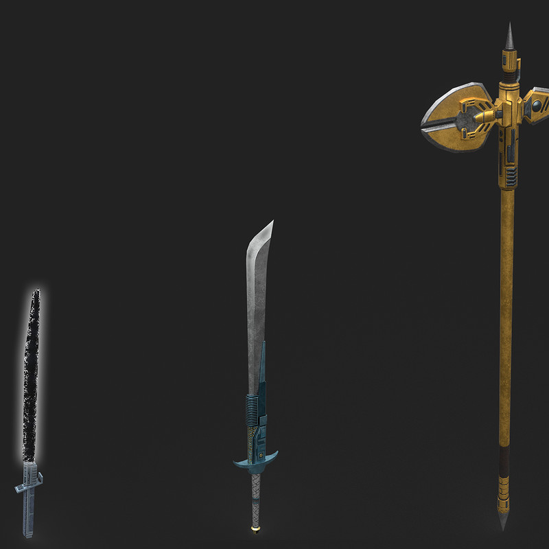SWG - Melee Weapon set