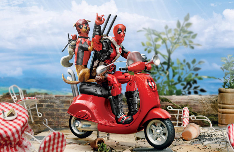 David nakayama sdcc 2018 marvel legends deadpool scooter with dogpool squirrelpool e1532116256151