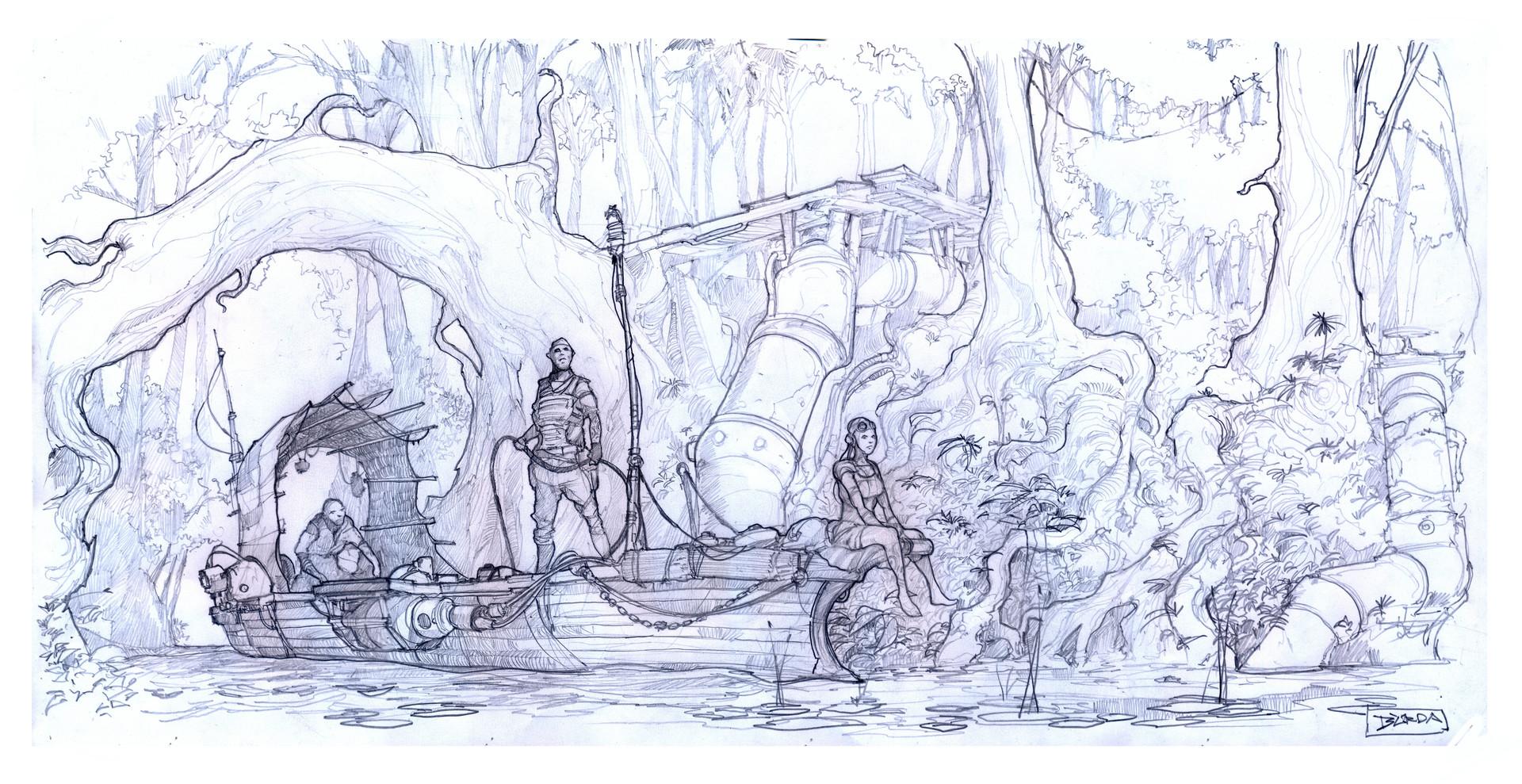 Alejandro burdisio canoa boceto hr1