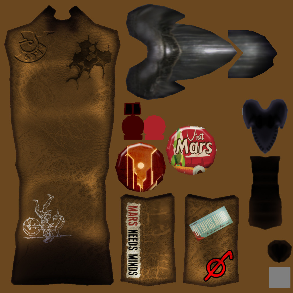 Randa rivera mechashifter textures bag