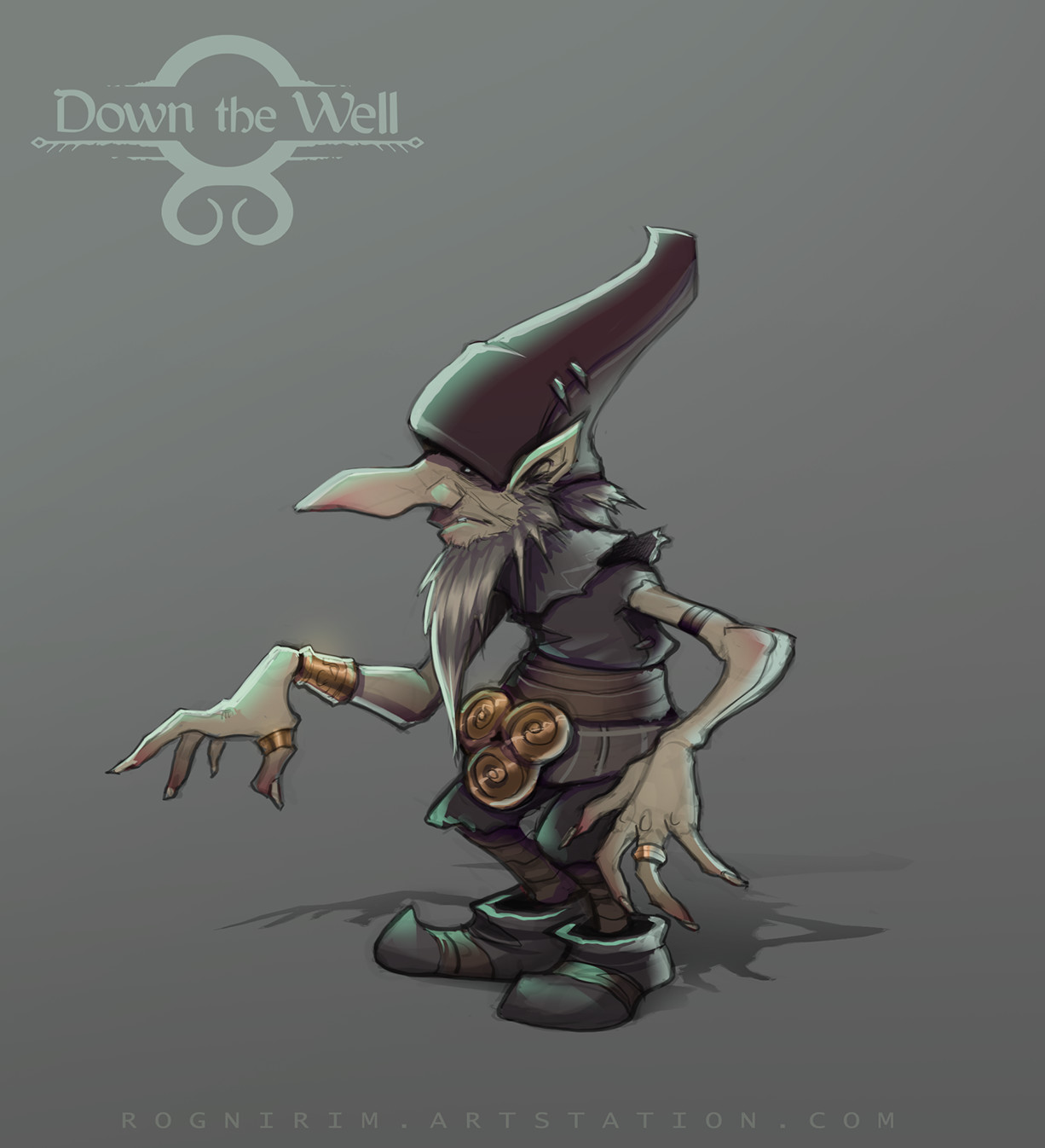 C levall down the well entity concept 01