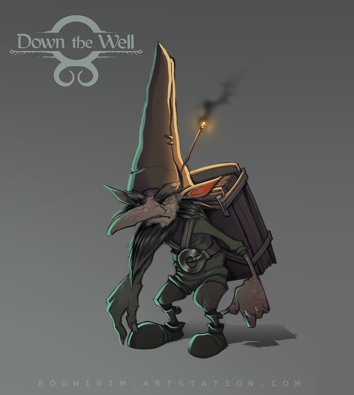 C levall down the well entity concept 02