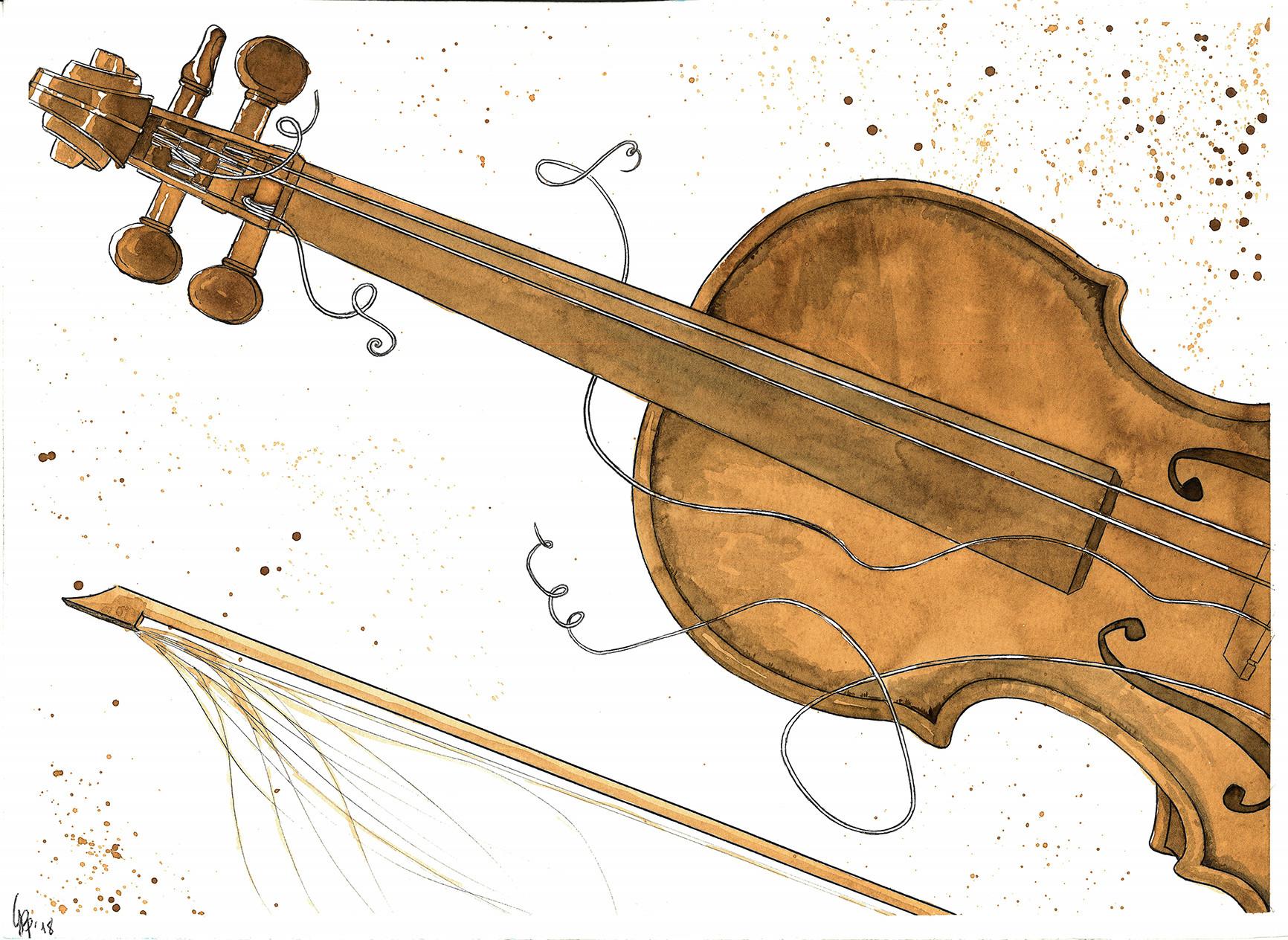 Il Guarnieri del Gesù, detto ''cannone'', del 1743, suonato da Paganini e donato alla città di Genova.