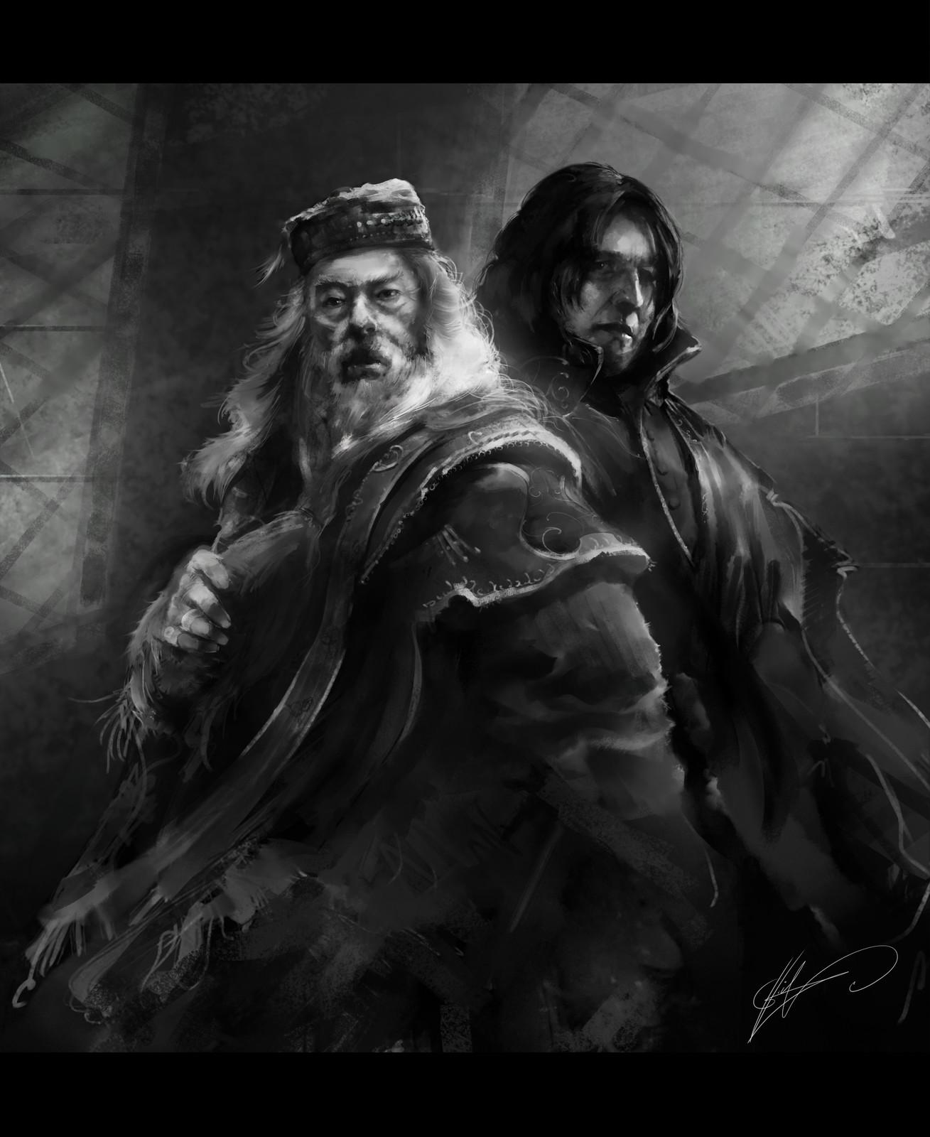 Dumbledore & Snape