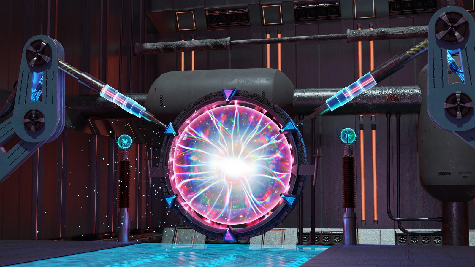 Magic Portal - Original 3D Animation Environment