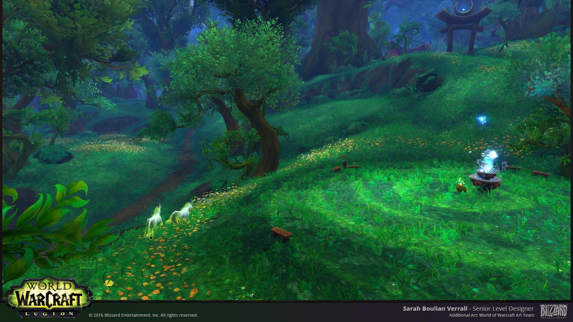Artstation World Of Warcraft Legion Sarah Boulian Verrall