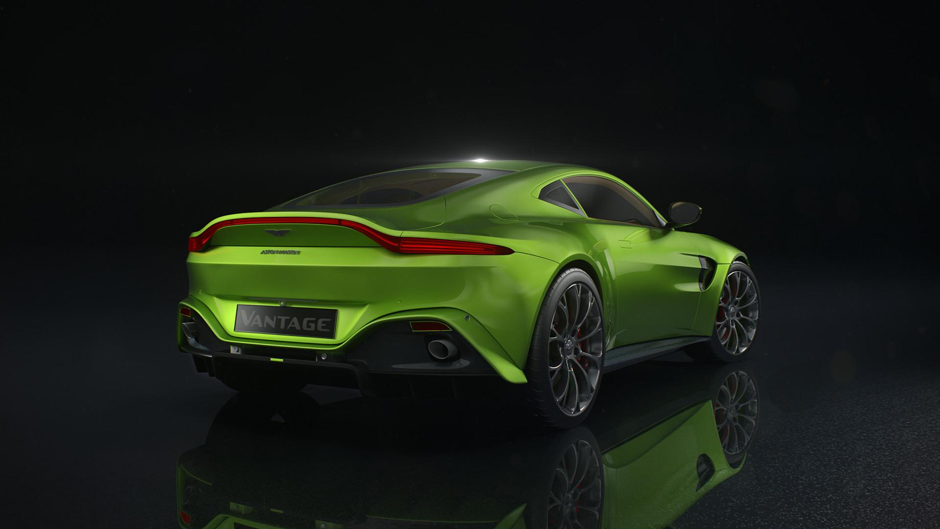 Simo Kettunen Aston Martin Vantage Rendering