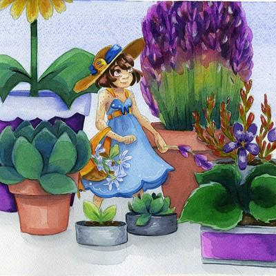 Becca hillburn little garden001