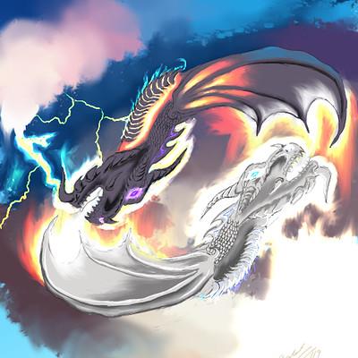 Andre smith dragonfire good vs evil low rez