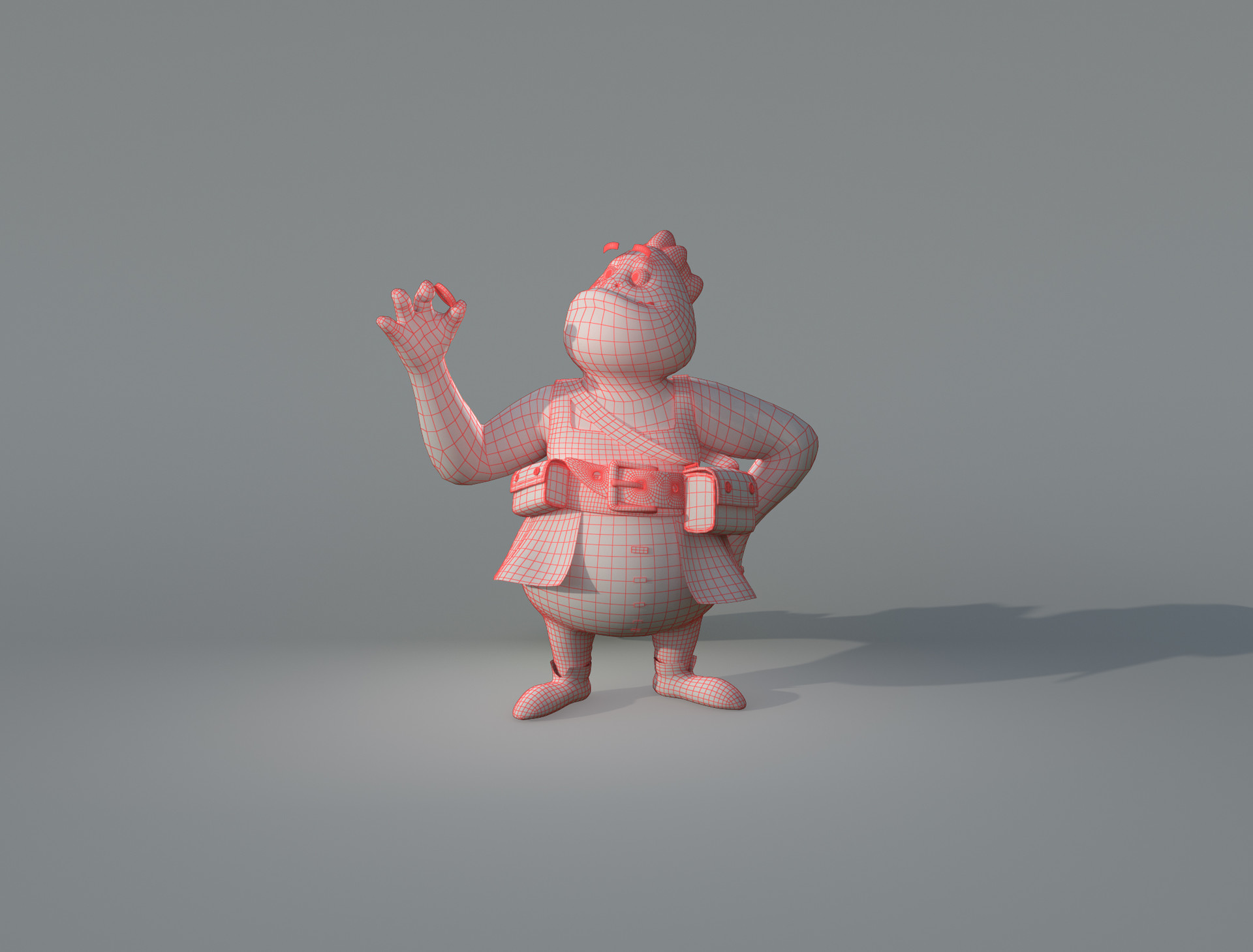 39a53fb5a6926 ArtStation - Froggo The Salesman