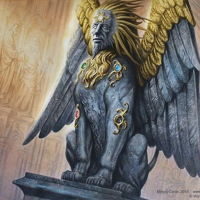 Milivoj ceran mceran mtg sphinx of the guildpact 001