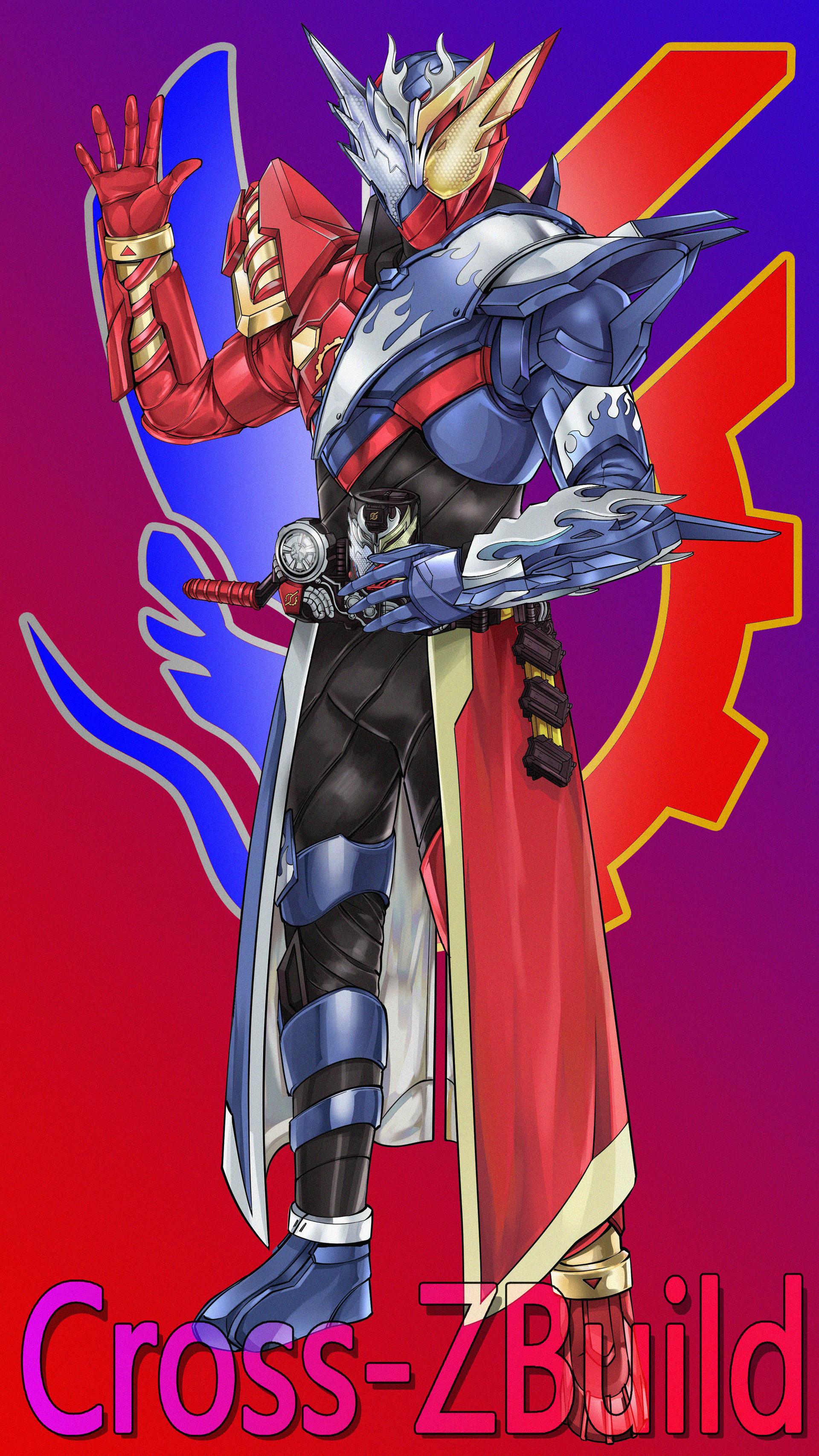 Artstation Kamen Rider Build Cross Zbuild Renhao Zhuang