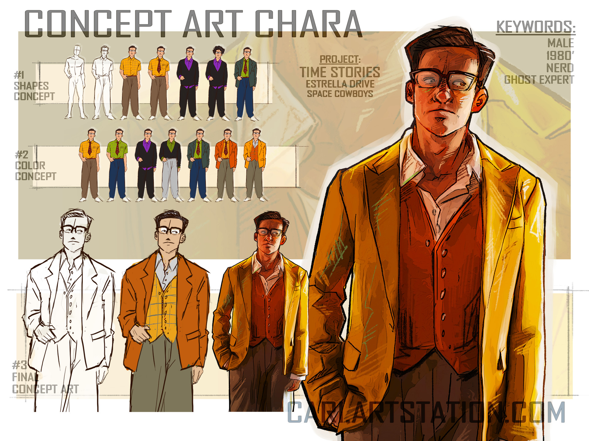 Cari art concept art harveyspector