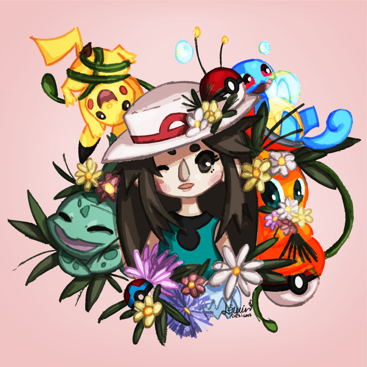 Lowin designs pokemon