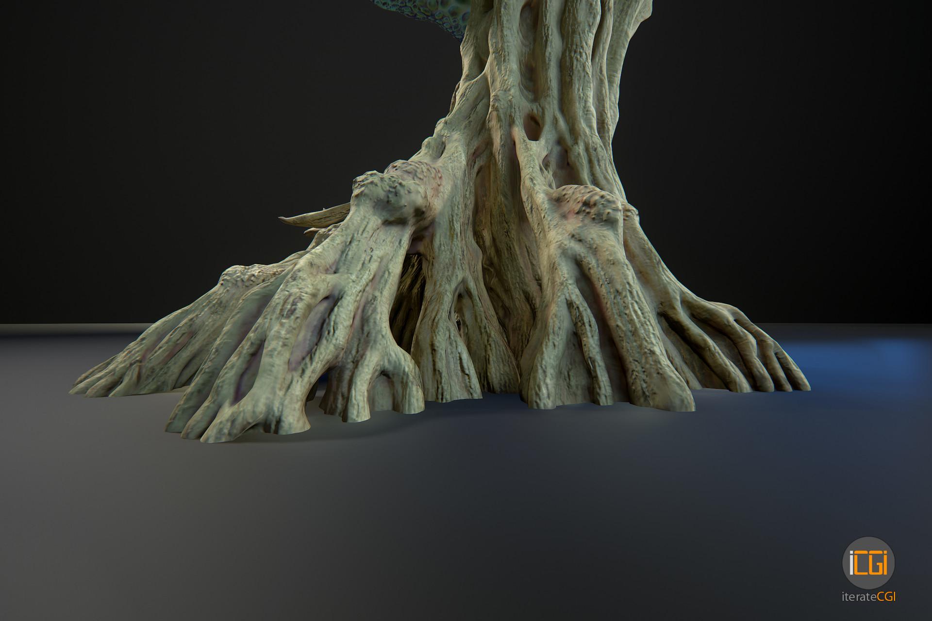 Johan de leenheer alien plant mushroom type2 17