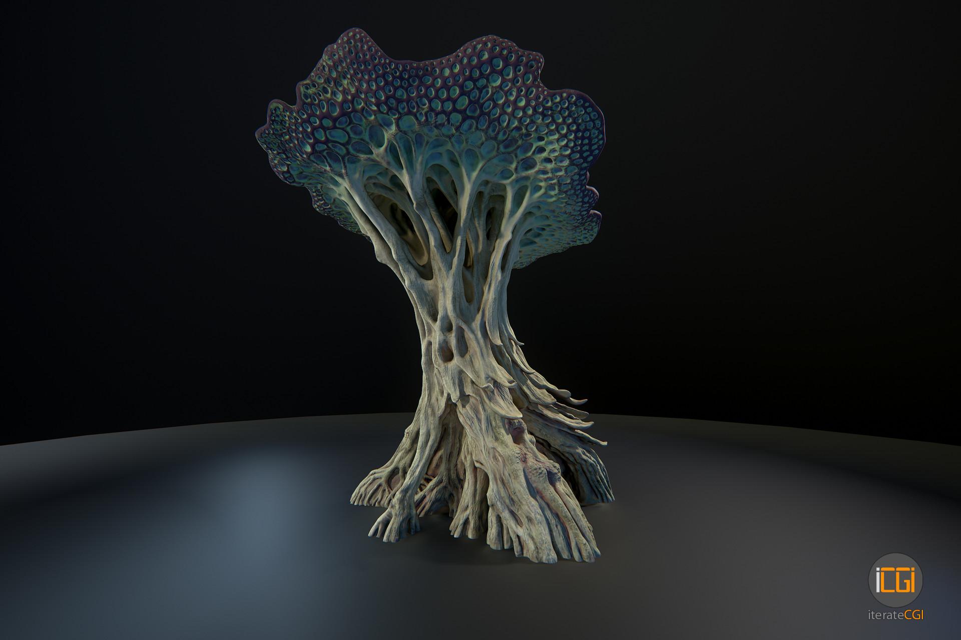 Johan de leenheer alien plant mushroom type2 5
