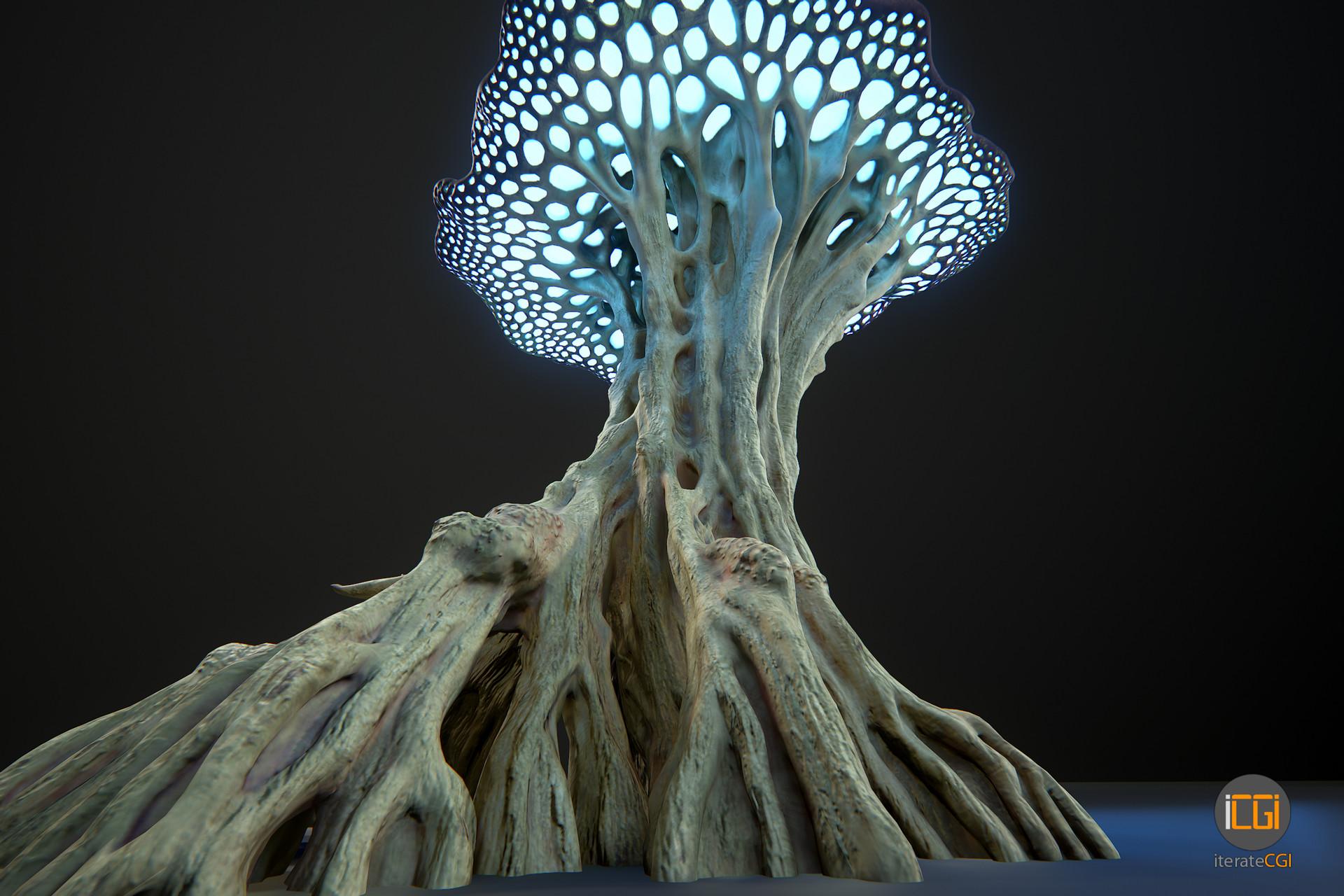 Johan de leenheer alien plant mushroom type2 26