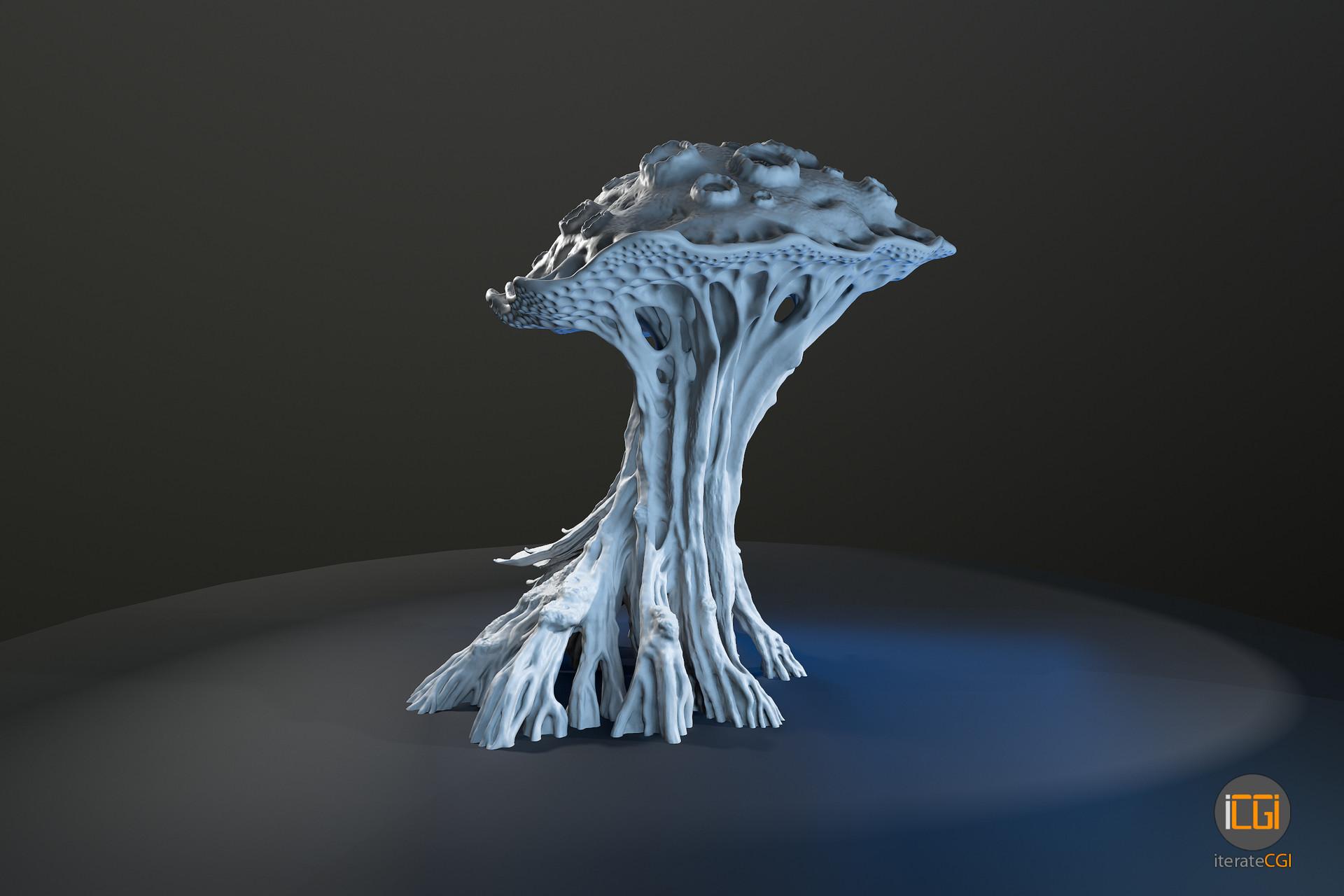 Johan de leenheer alien plant mushroom 5