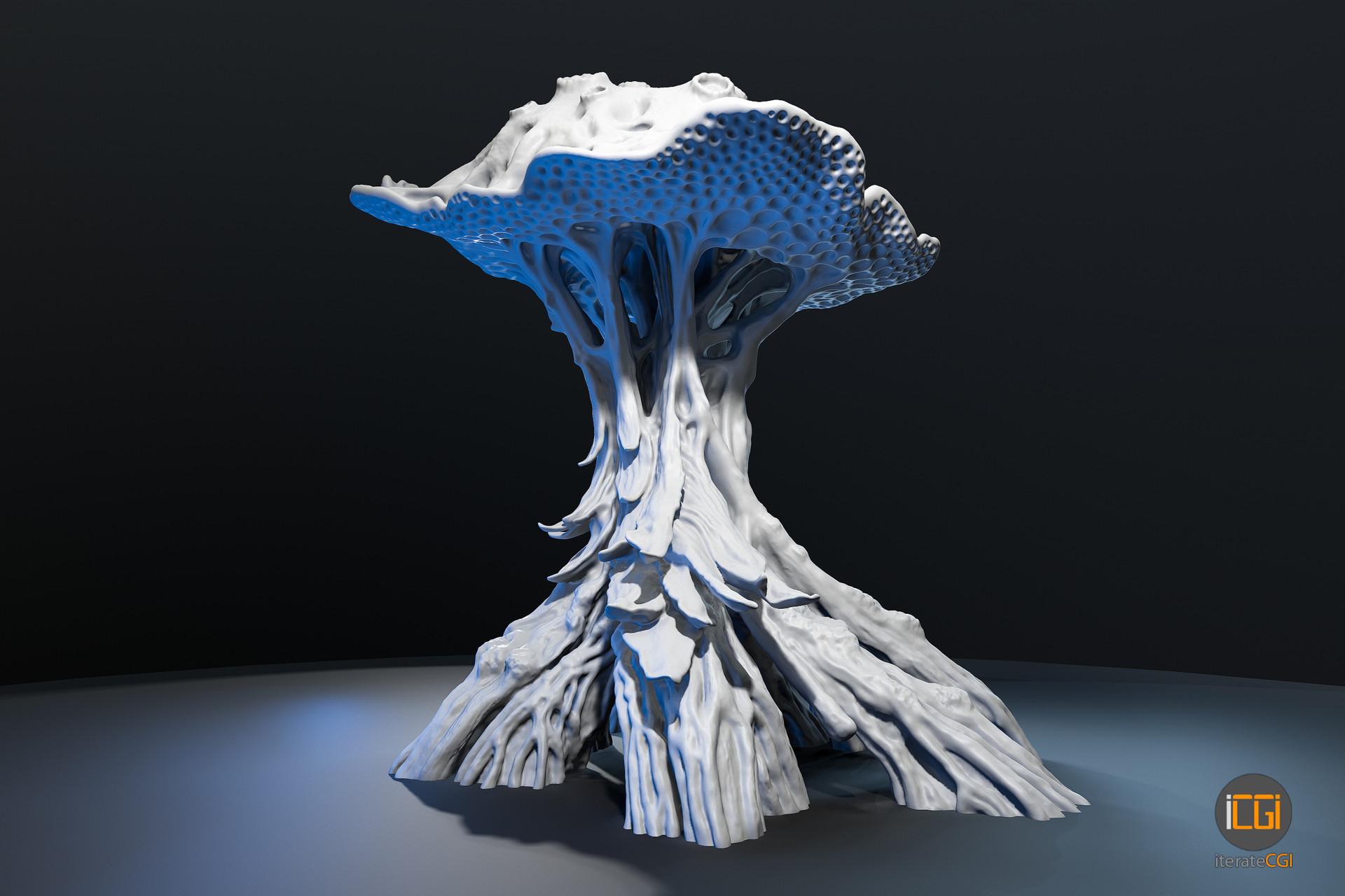 Johan de leenheer alien plant mushroom 9