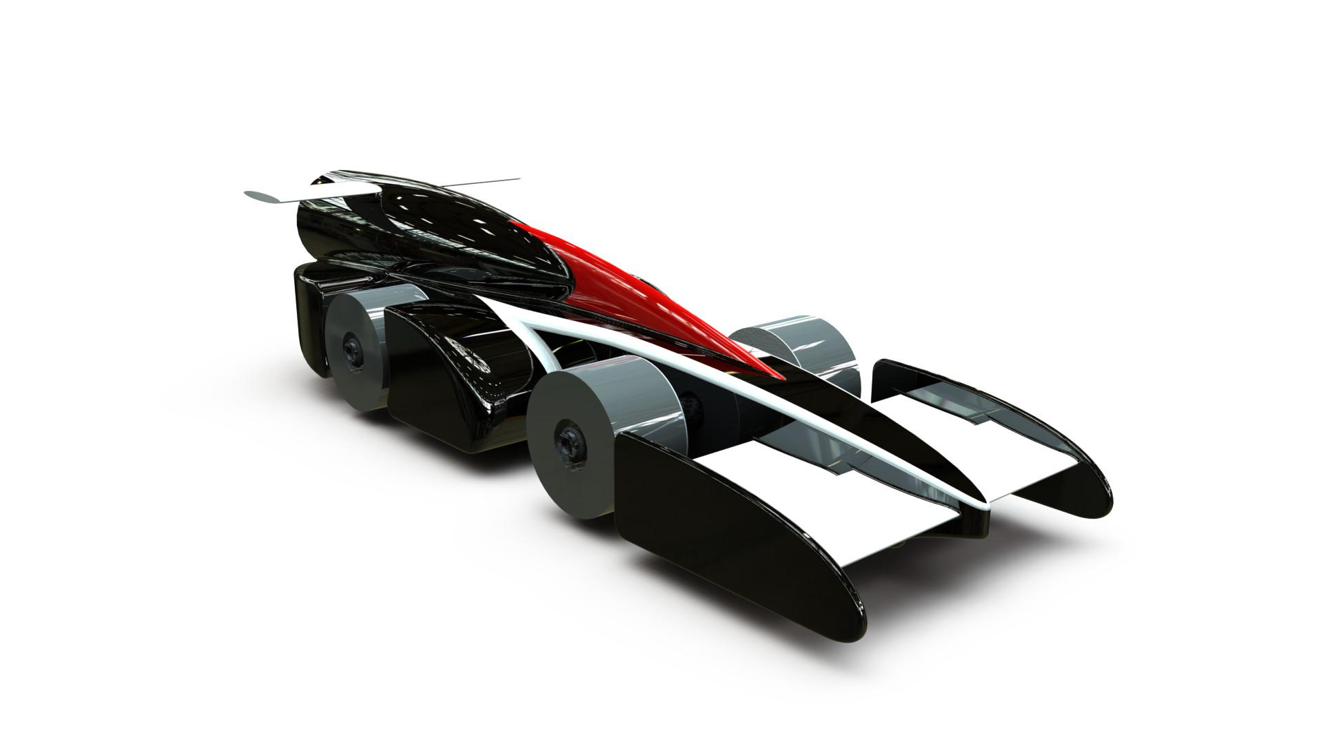 Artstation Ground Force Project F1 In School Model Car Jason Grigoropoulos