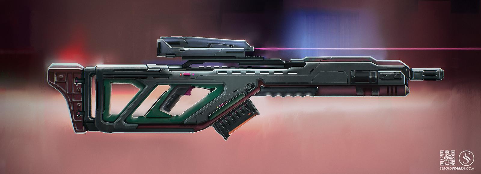 Sci-Fi Rifle 2