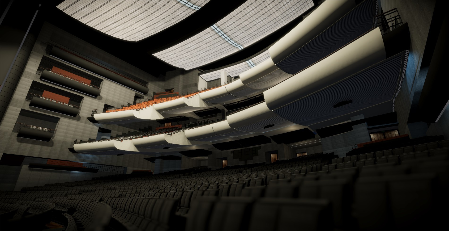 Artstation Salle Principale De L Opera Bastille Julien El Ghadghadi