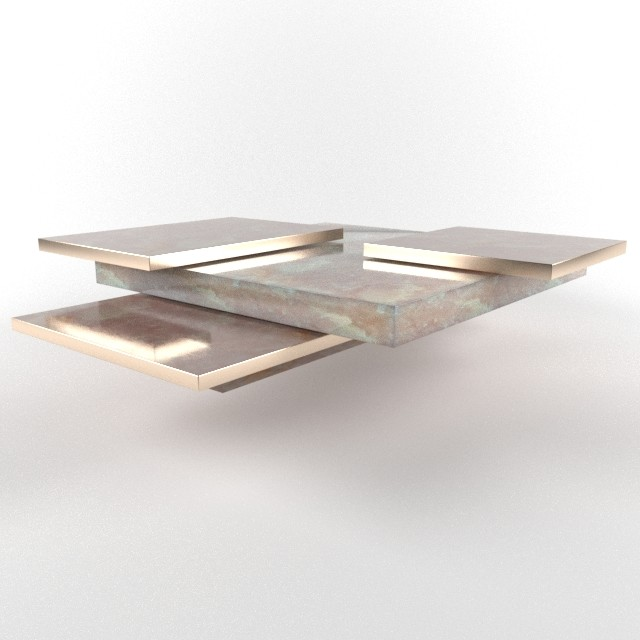 Marvin supan custom coffee table