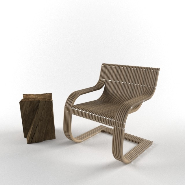 Sutherland Continuous Line Chair