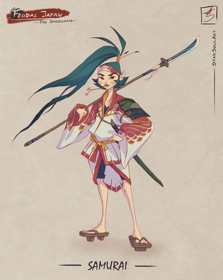 SAMURAI: The young adventurous girl.