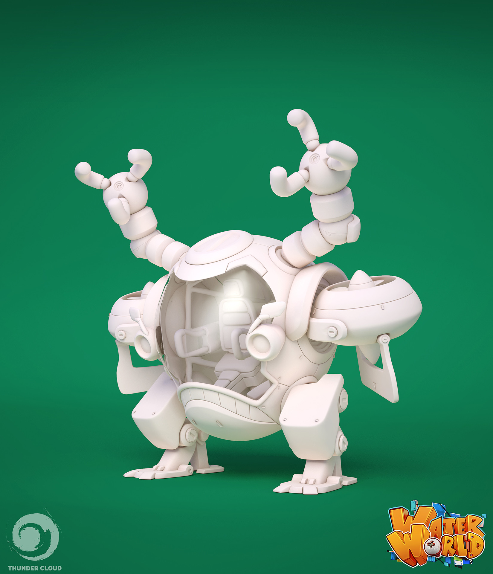 Thunder cloud barmmech hipoly supportimage front min