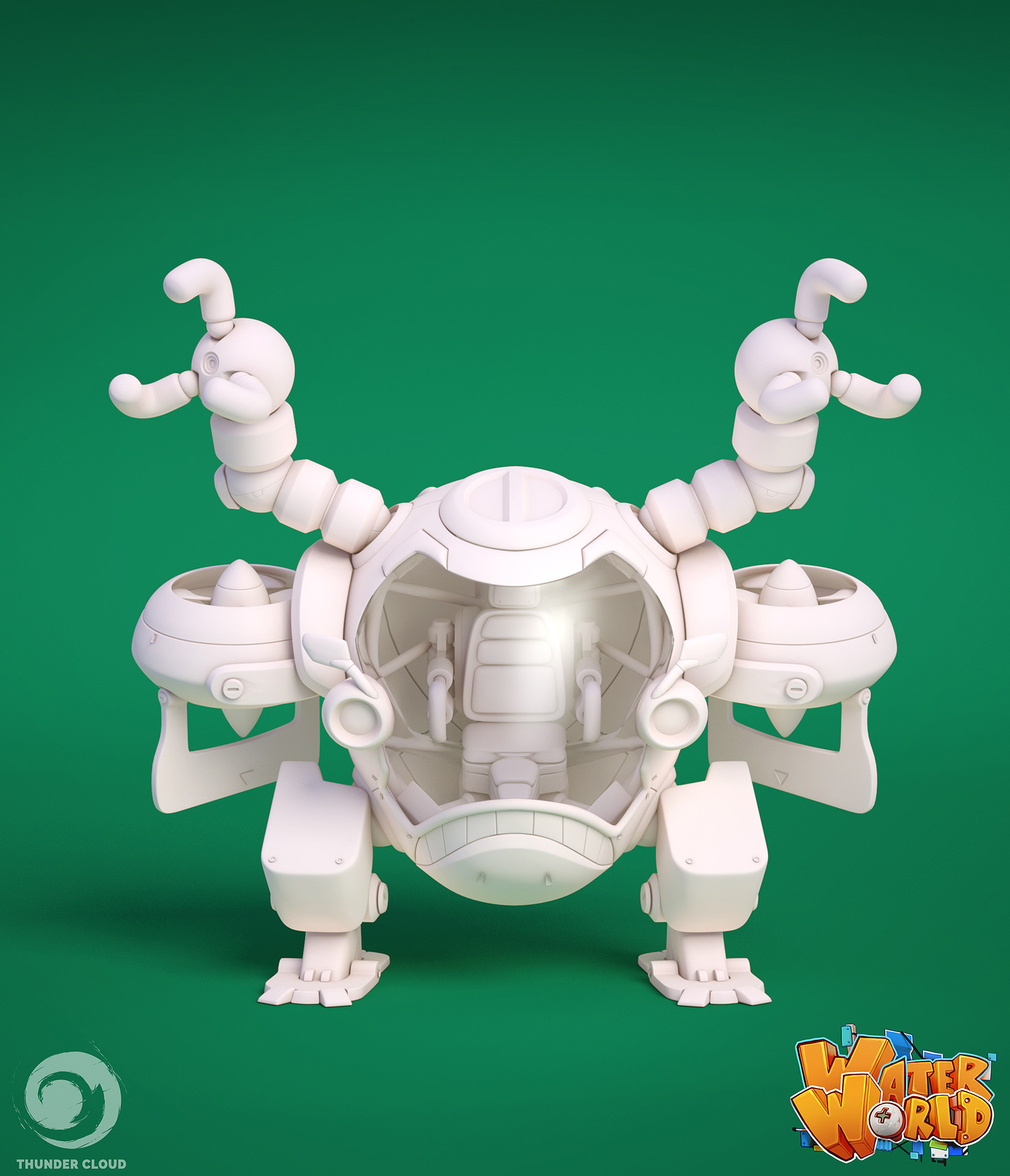 Thunder cloud barmmech hipoly supportimage directfront min