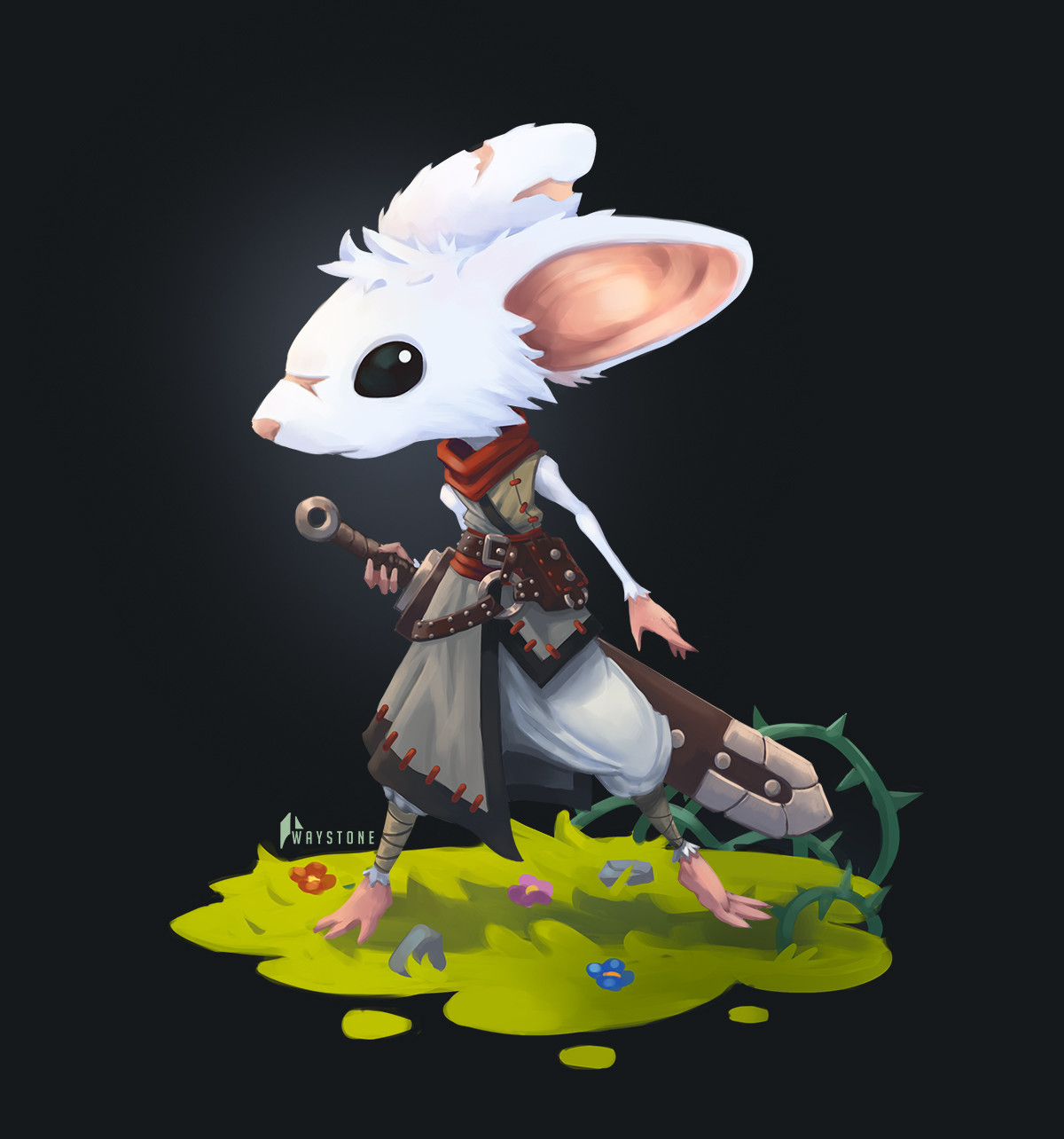 CDC January - Mouse Warrior